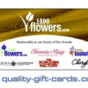 $100 1800Flowers Gift Card $92