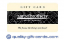Sell Aaron Brothers Gift Card 47%