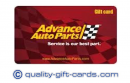 Sell Advance Auto Parts Gift Card 55%