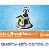 $100 BedandBreakfast.com Gift Card $90