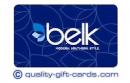 $100 Belk Gift Card $97