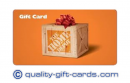 $100 Home Depot Gift Card $95