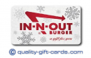 $25 In-N-Out Burger Gift Card $22.50