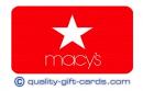 $100 Macys Gift Card $95
