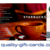 $100 Starbucks Gift Card $80